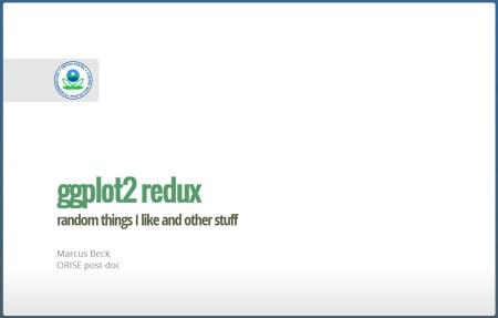 ggplot2 redux